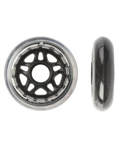 Rollerblade 80mm 82A Wheels Clear