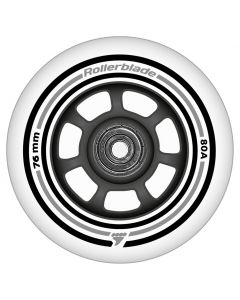 Rollerblade Wheel Kit 76mm/80A Wheels + SG5 Bearings