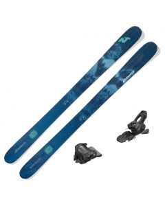 2021 Nordica Santa Ana 98 Women's Skis w/ Tyrolia Attack2 11 GW Bindings