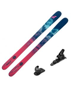 2021 Nordica Santa Ana 93 Women's Skis w/ Tyrolia Attack2 11 GW Bindings