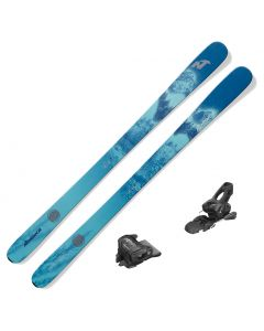 2021 Nordica Santa Ana 88 Women's Skis w/ Tyrolia Attack 11 GW Bindings