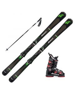 2018 Nordica GT 76 TI Skis w/ Nordica Speedmachine 100 Boots and Poles