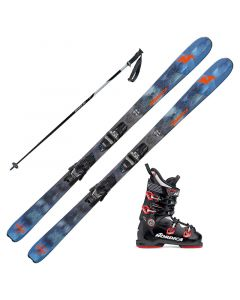 2018 Nordica Navigator 85 FDT Skis w/ Nordica Speedmachine 100 Boots and Poles