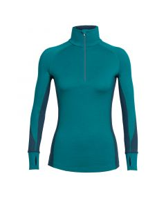 Icebreaker Women's Winter Zone Long Sleeve Half-Zip Shirt