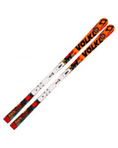 2017 Volkl Racetiger Speedwall GS R UVO Junior Skis & 9mm Plate