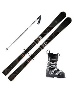 2020 Volkl Flair 75 Womens Skis w/ Rossignol Pure Comfort 60 Boot and Poles