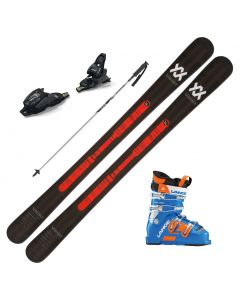 2020 Volkl Mantra Junior Skis w/ Marker FDT Binding and Lange RSJ 60 Ski Boots