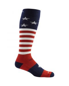 Darn Tough Men's Captain America Merino Wool OTC Ultra-light Socks