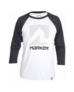 Marker Men's Action Baseball Tee