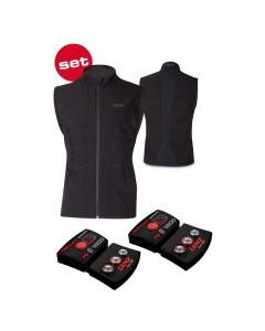 Lenz Men's Heat Vest 1.0 + Lithium pack rcB 1800