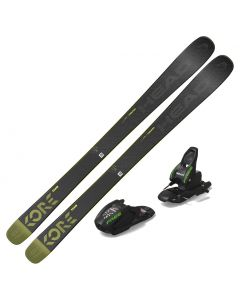 2021 Head Kore Team Junior Skis w/ Marker M 7.0 Free Binding