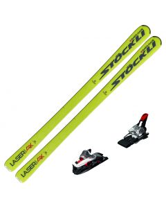 2020 Stockli Laser AX Skis w/ Marker Xcell 12 Bindings