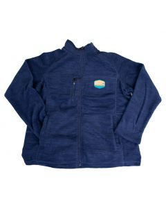 Stowe VT Womens Casade Full Zip Fleece