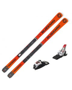 2020 Blizzard Firebird GS Junior Race Skis w/ Marker Race 10 TCX
