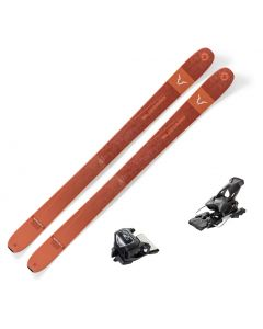 2020 Blizzard Rustler 11 Skis w/ Tyrolia Attack2 13 GW Bindings