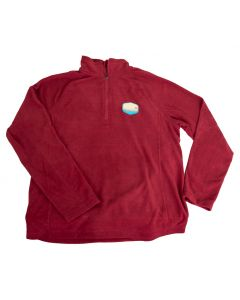 Stowe VT Mens Terramo Quarter Zip Fleece