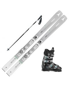 2021 Atomic Womens Vantage 75 Skis w/ Dalbello MX 65 W Boot and Poles