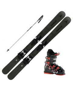 2021 Atomic Bent Chetler Jr Skis w/ Rossignol Comp J Boots and Poles