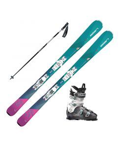 2018 Elan Delight Charm Women's Skis w/ DS MX 70w Boots and Poles