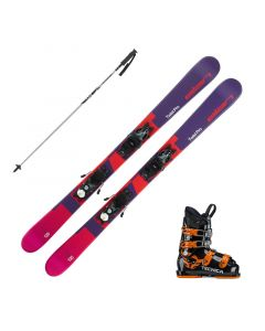 2020 Elan Twist Pro Junior Skis w/ Tecnica JT4 Boots and Poles
