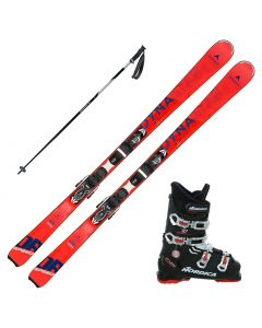 2020 Dynastar Speed Zone 6 Skis w/ Nordica Cruise 70 Boots and Poles