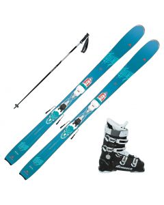 2020 Dynastar Legend W84 Womens Skis w/ Nordica Cruise 75w Boots and Poles