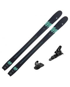 2020 Dynastar Legend W88 Women's Skis w/ Look SPX 12 Bindings