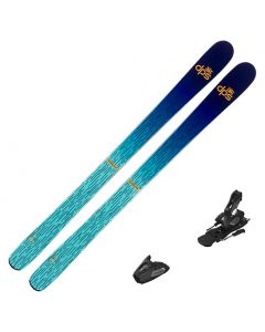 2022 DPS Foundation Grom 87 Skis w/ Atomic Colt 7 Bindings