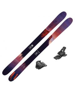 2020 Liberty Genesis 96 Women's DEMO Skis w/ Tyrolia Attack2 13 GW Bindings