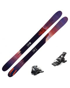 2020 Liberty Genesis 96 Women's Skis w/ Tyrolia Attack2 13 GW Bindings