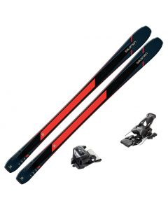2020 Salomon XDR 84 Ti Skis w/ Tyrolia Attack2 13 GW Bindings