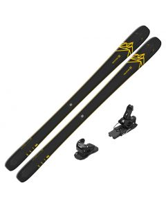 2020 Salomon QST 92 DEMO Skis w/ Salomon Warden MNC 13 Bindings