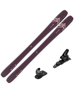 2020 Salomon QST 99 Lumen Women's Skis w/ Tyrolia Attack2 11 GW Bindings
