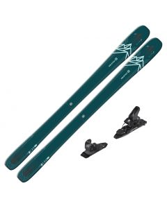 2020 Salomon QST Lux 92 Women's DEMO Skis w/ Salomon Warden MNC 11 Bindings