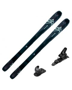 2020 Salomon QST Lux 92 Women's Skis w/ Tyrolia Attack2 11 GW Bindings