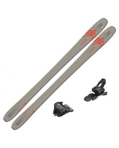 2021 Salomon QST 85 Skis w/ Tyrolia Attack2 11 GW Bindings