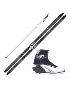 2020 Fischer Inspire My Style XC Ski w/ Fischer My Style Control Boot and Poles