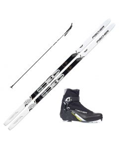 2020 Fischer Cruiser EF XC Skis w/ Fischer XC Control Boot and Poles