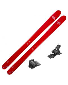 2021 DPS Pagoda Piste 100 C2 Skis w/ Tyrolia Attack2 13 GW Bindings