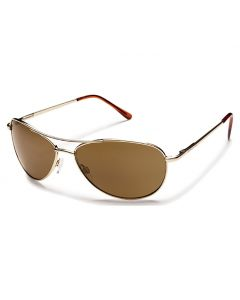 Suncloud Patrol Gold w/ Brown Polarized Lens