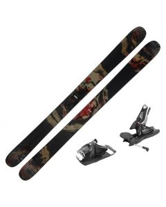 2020 Rossignol BLACK OPS 118 Skis w/ Look SPX 12 Bindings