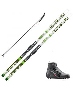 2020 Rossignol Evo Glade 59 Skis w/ Rossignol X2 Boots and Poles