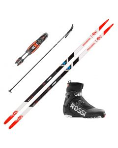 2021 Rossignol Delta Comp R-Skin XC Skis w/ Rossignol X8 SC Boots and Poles