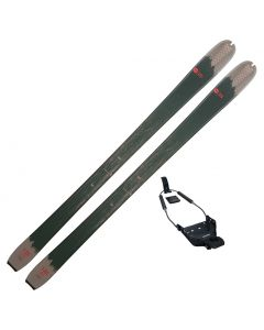 2021 Rossignol BC 120 Wax Base Backcountry Touring Skis w/ 75mm Binding