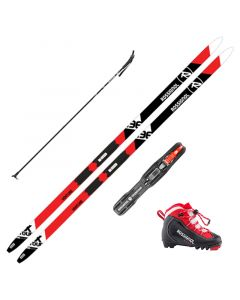2020 Rossignol XT Venture Junior XC Skis w/ Rossignol X1 Jr. Boots and Poles