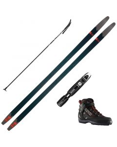 2020 Rossignol BC 65 Positrack XC Skis w/ Rossignol Bc X5 Boots and Poles
