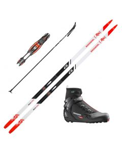 2020 Rossignol Delta Sport Classic Skis w/ Rossignol X6 SC Boots and Poles