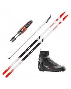 2020 Rossignol Delta Sport R-Skin Skis with Rossignol X6 SC Boots and Poles