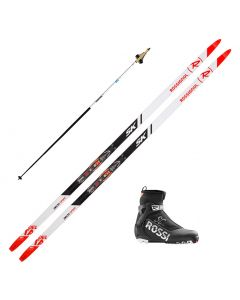 2020 Rossignol Delta Sport Skate Skis w/ Rossignol X6 Combi SC Boots and Poles