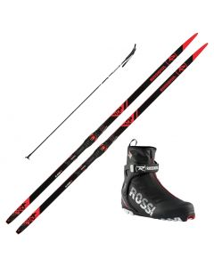 2021 Rossignol X-IUM R-Skin Skis w/ Rossignol X8 SC Boots and Poles